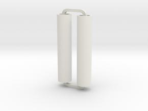 Slimline Pro plain ARTG in White Natural Versatile Plastic