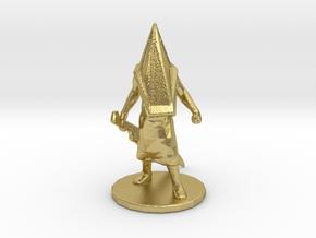 Silent Hill Pyramid Head 1/60 miniature fantasy rp in Natural Brass