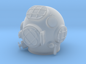12th scale MK V Diving Helmet in Smooth Fine Detail Plastic