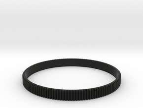 Lens gear 0.8 pitch - 100.0mm in Black Natural Versatile Plastic