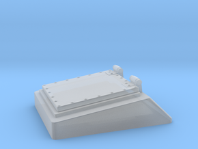 1/100 DKM Schnellboot Bow Hatch in Smooth Fine Detail Plastic