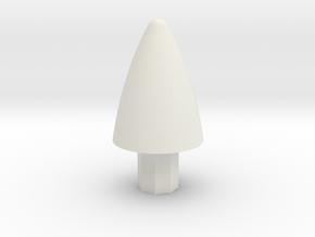 Lancair Legacy Spinner in White Natural Versatile Plastic