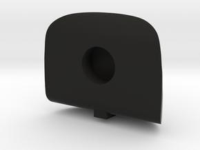 Lancair Legacy Canopy in Black Natural Versatile Plastic