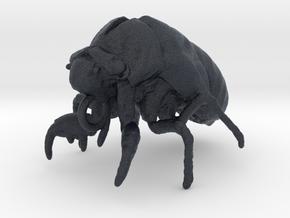 Cicada Nymph Molt Pendant in Black Professional Plastic