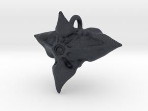 Caltrop Seed Pendant in Black Professional Plastic