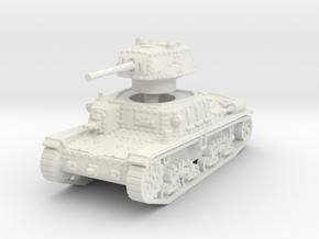 M15 42 Medium Tank 1/100 in White Natural Versatile Plastic