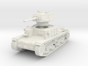M15 42 Medium Tank 1/100 in White Natural Versatile Plastic