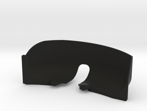 SCX10ii Right Inner Fender for Mojave II Body in Black Natural Versatile Plastic