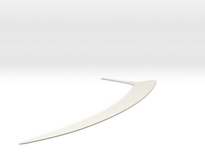 Wookie Ryyk Blade in White Natural Versatile Plastic