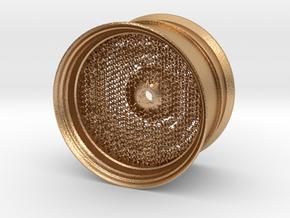 RC Car Rim 1:14 Hexagonal Grid 04 in Natural Bronze