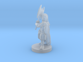 Halfling Barbarian 5 in Smooth Fine Detail Plastic