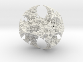 Kleinian One Large in White Natural Versatile Plastic