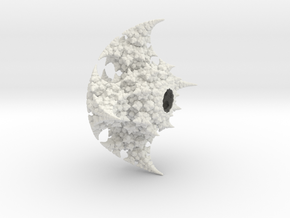 Kleinian One Large - half in White Natural Versatile Plastic