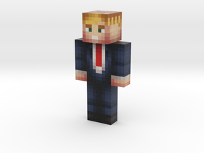 DonaldTrump | Minecraft toy in Natural Full Color Sandstone