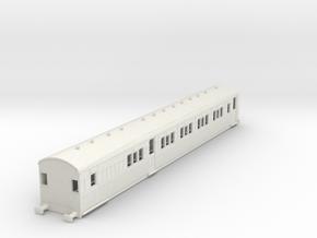 o-100-secr-continental-brake-first-coach in White Natural Versatile Plastic