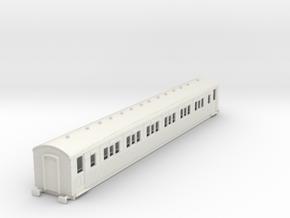 o-87-secr-continental-corr-first-coach in White Natural Versatile Plastic