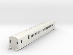 o-100-secr-continental-brake-second-coach in White Natural Versatile Plastic