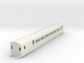 o-100-secr-continental-brake-second-coach in White Natural Versatile Plastic