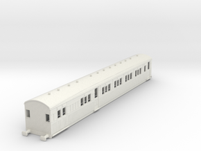 o-100-secr-sr-continental-brake-first-coach in White Natural Versatile Plastic