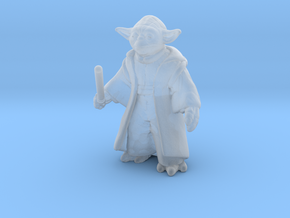 Yoda (25mm) in Smooth Fine Detail Plastic