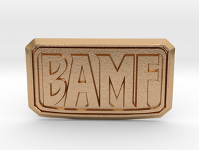 BAMF Buckle in Natural Bronze