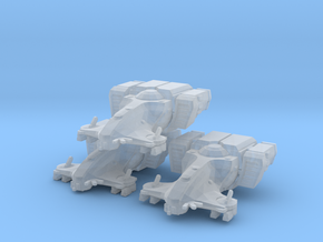 Tau Harbinger MICRO 3 pack in Smooth Fine Detail Plastic