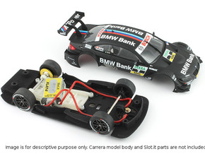 S02-ST1 BMW M3 DTM Chassis STD/LMP in Black Strong & Flexible