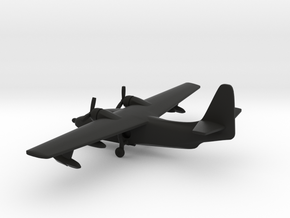 Grumman HU-16 Albatross in Black Natural Versatile Plastic: 1:350