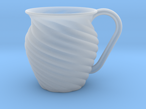 Decorative Mug in Smooth Fine Detail Plastic