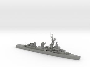 1/700 Scale 4 Gun Fletcher Destroyer 1950 in Gray PA12