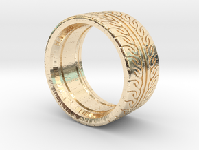 Neova Tire Hexacore Dense in 14K Yellow Gold