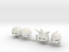 5 x PA in White Premium Versatile Plastic