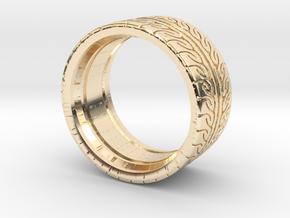 Neova Tire Hexacore Light in 14k Gold Plated Brass