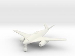 (1:144) Messerschmitt Me 262 HG I V-tail variant in White Natural Versatile Plastic