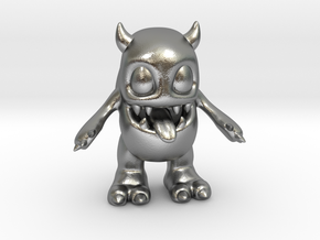 Baby Monster Colored_small in Natural Silver