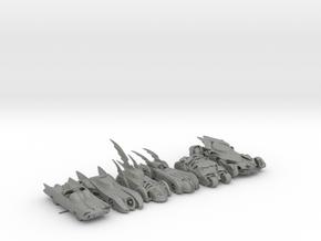 Batmobiles Round 1.  160 scale in Gray Professional Plastic