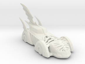 1995 Batmobile 160 scale in White Natural Versatile Plastic