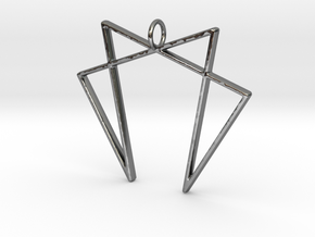 Law of 7 in Fine Detail Polished Silver