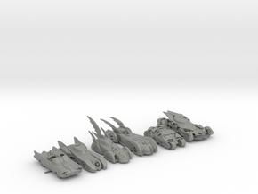 Batmobiles 220 scale in Gray PA12
