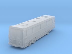 Italian Job Bus Harrington Legionnaire in Smoothest Fine Detail Plastic: 6mm