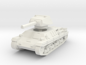P-40 Heavy Tank 1/120 in White Natural Versatile Plastic