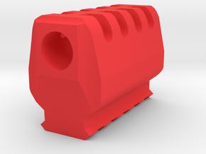 J.W. Compensator V2 (16mm-) in Red Processed Versatile Plastic
