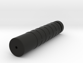 Silencer Handguard in One (M4 Barrel Nut Version) in Black Natural Versatile Plastic