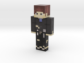 Pixelated_Pickax | Minecraft toy in Natural Full Color Sandstone