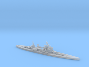 British King George V-class Battleship in Smooth Fine Detail Plastic