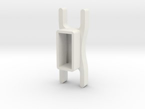 Video Game Controller Stand in White Natural Versatile Plastic
