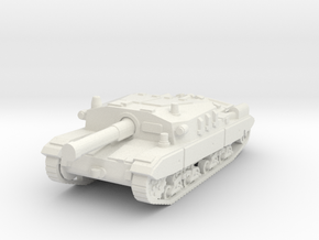 Semovente M43 105 1/56 in White Natural Versatile Plastic