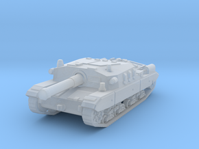 Semovente M43 105 1/160 in Smooth Fine Detail Plastic