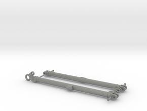 Modern German Towbars 1/16 scale in Gray PA12