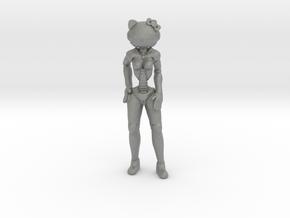 Cyber Kitty in Gray PA12